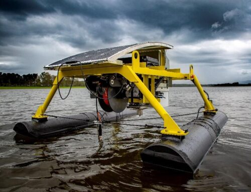 Floating Pontoon Robot